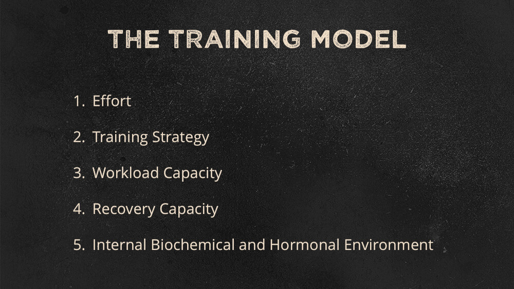 The 5-Part Training Model
