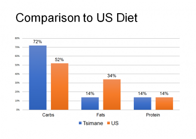 Comparison to US Diet